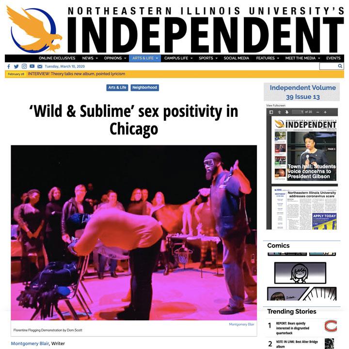 Northeast Illinois University Independent - Wild & Sublime